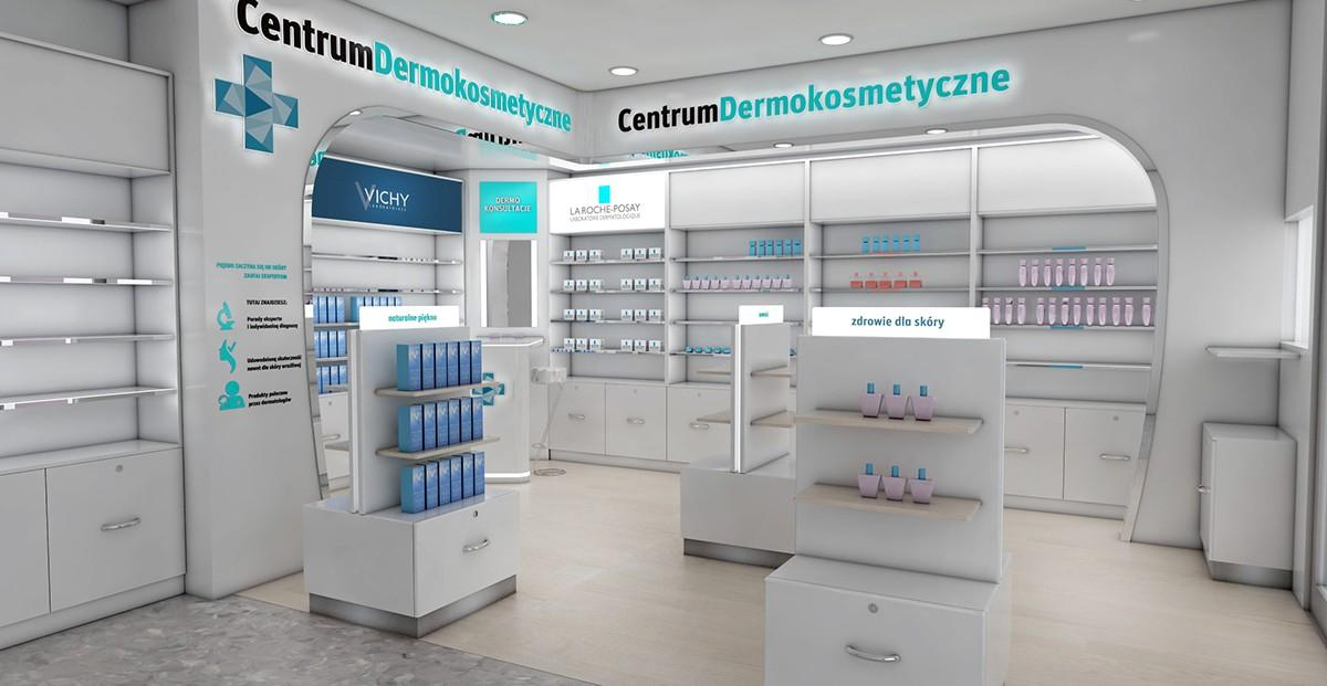 OUYEE Brand retail supplies pharmacy counter design shop supplier