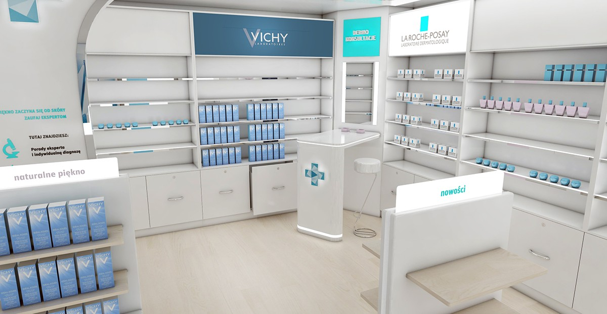 OUYEE top selling medical store design fast installation for hospital-4