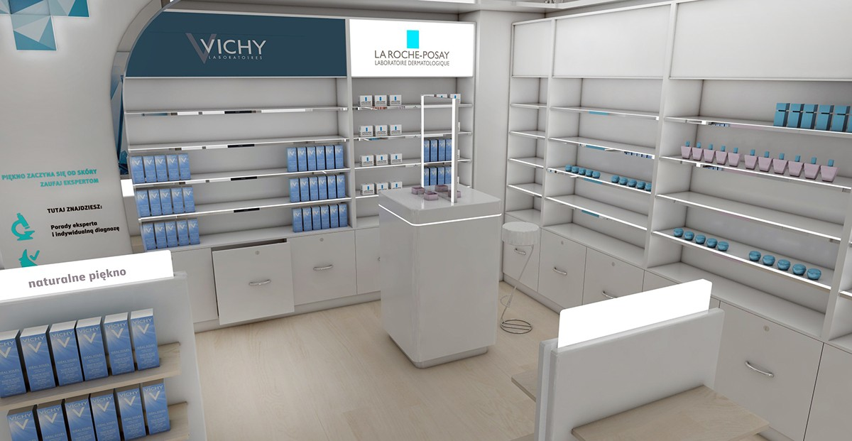 OUYEE top selling medical store design fast installation for hospital-5