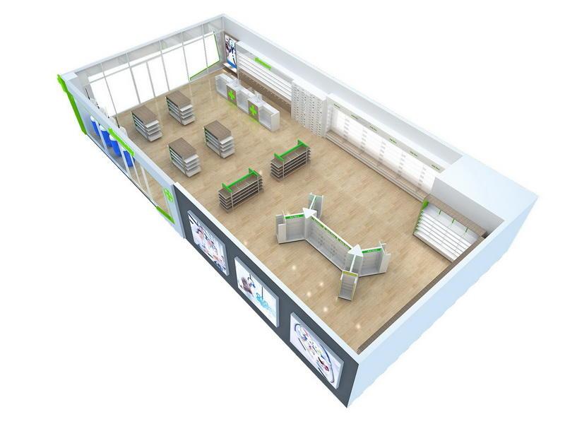 Pharmacy Furniture Design OY-PSD029