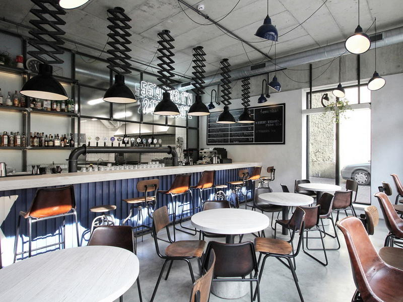 Interior Design Ideas For Cafe Shop OY-CSD022