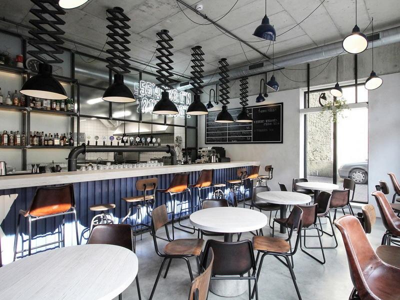 Interior Design Ideas For Cafe Shop OY-CSD022