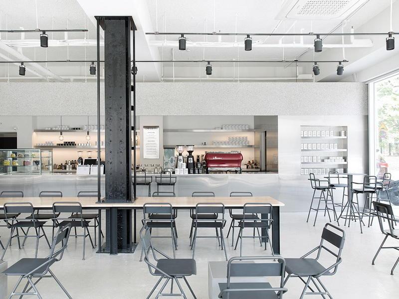Coffee Shop Bar Design OY-CSD024