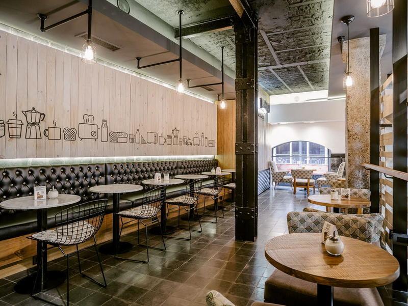 Interior Design For Cafe Bar OY-CSD029