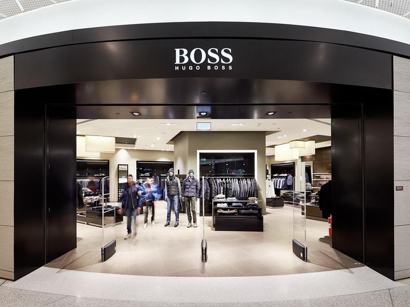 High-end Clothes Shop Design OY-GSD003