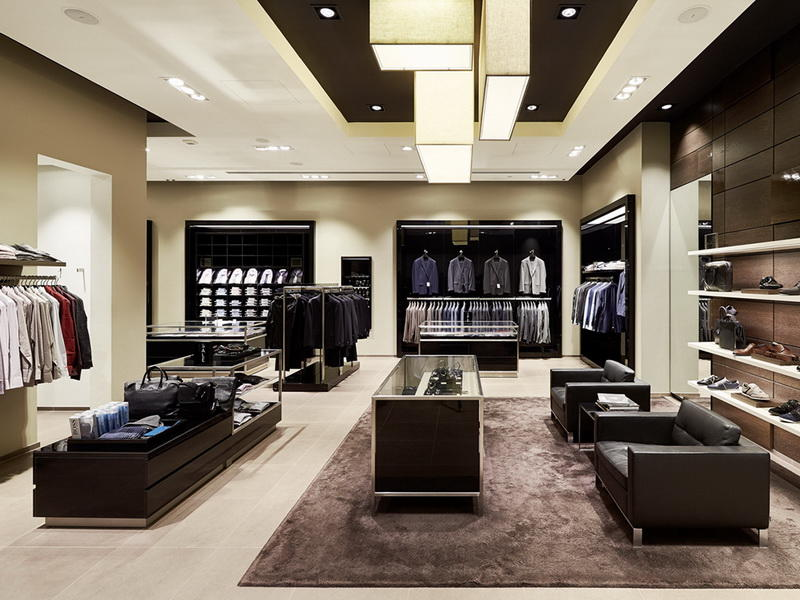 High-end Clothes Shop Design OY-GSD003