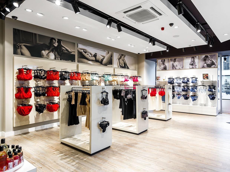 clothing store design high-end universalunderwear display-4