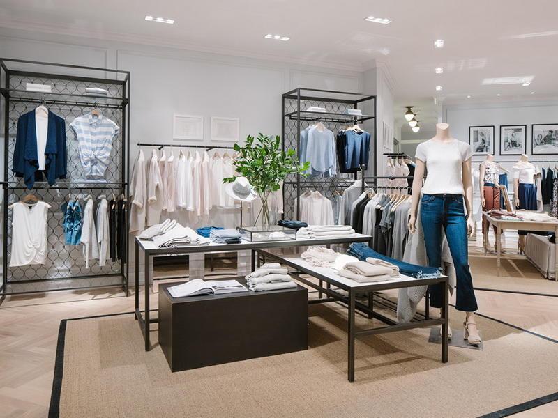 Garment Store Display Rack Clothing Display Ideas OY-GSD009
