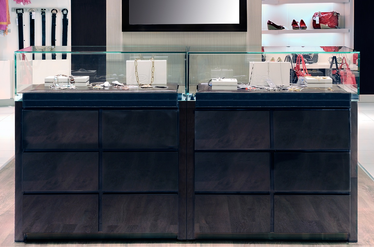 high-end handbag display stand at discount for store OUYEE-4