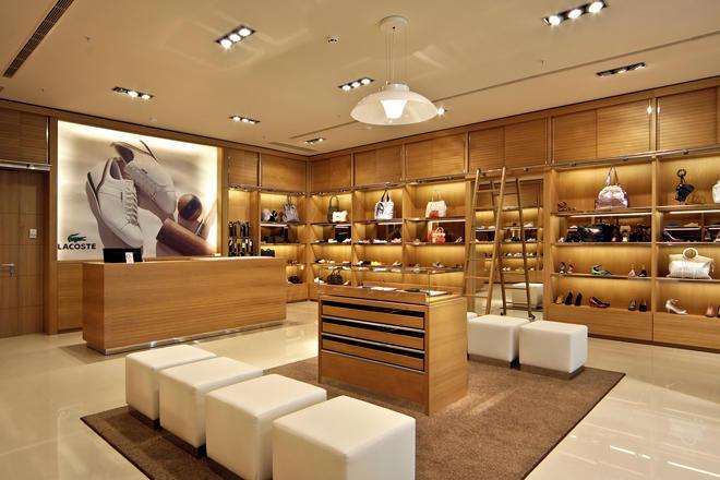 Wholesale shoes boutique wooden shoe rack designs OUYEE Brand