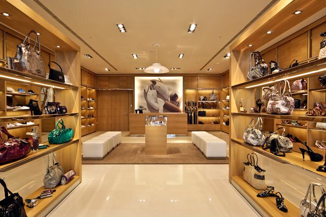 Bags Shop Fixture Display Showcase Handbag Stand OY-SSD003-4