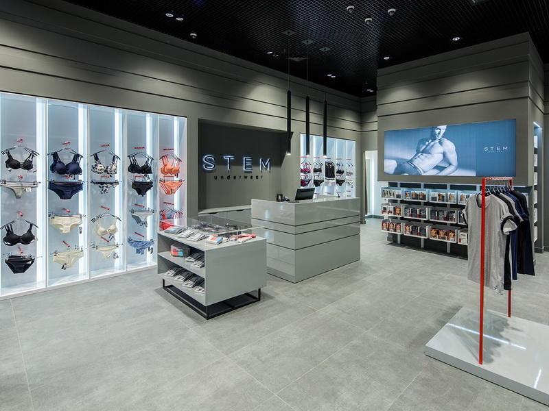 Retail Garments Shop Decoration OY-GSD012