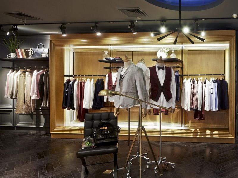 Clothes Menswear Shop Interior Design OY-GSD014