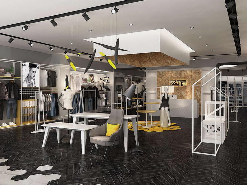 Clothing Showroom Interior Design OY-GSD015