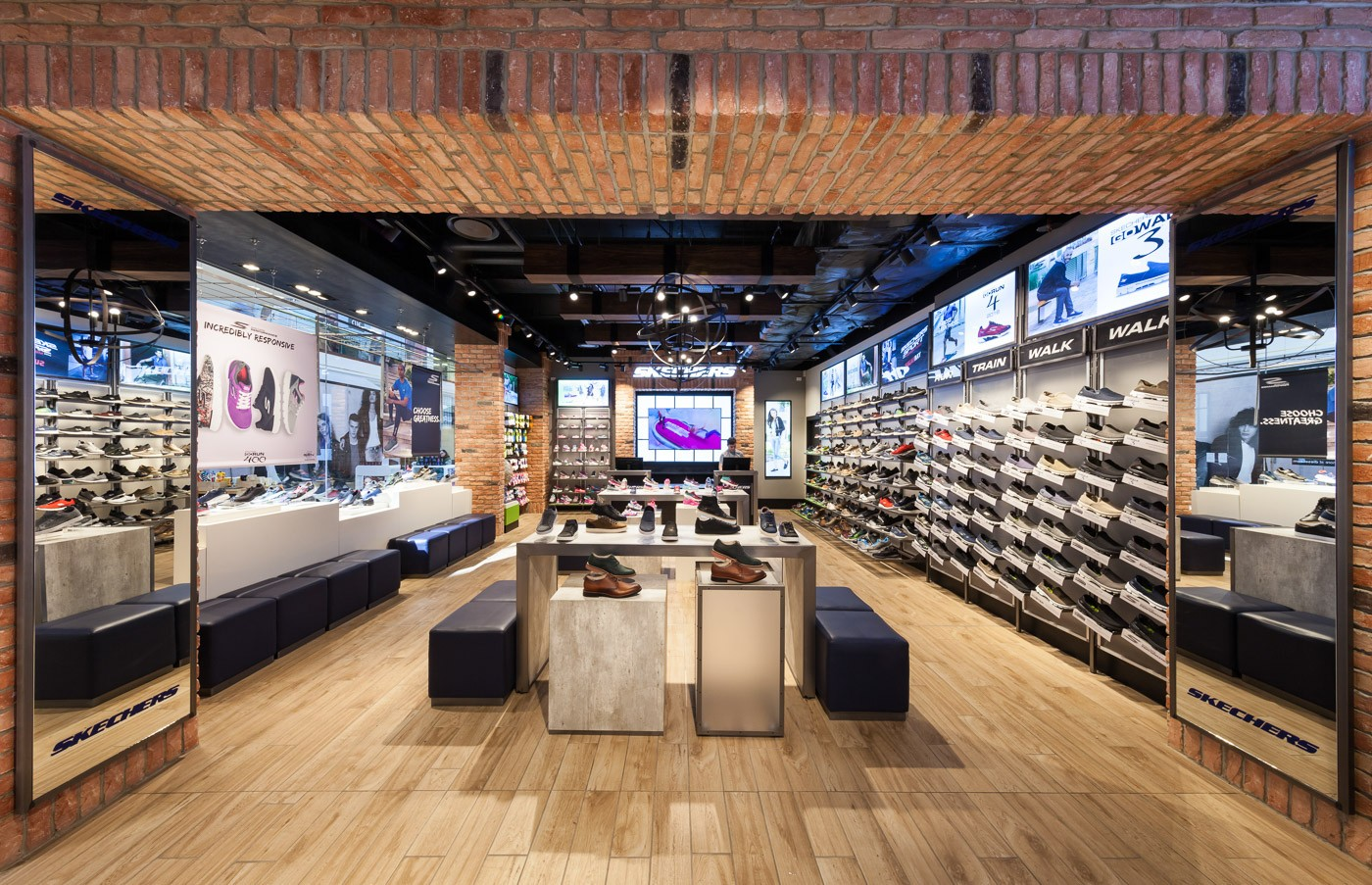 one-stop shoes display racks high-end manufacturer for chain shop-3