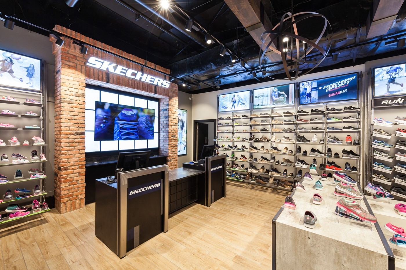 one-stop shoes display racks high-end manufacturer for chain shop-2