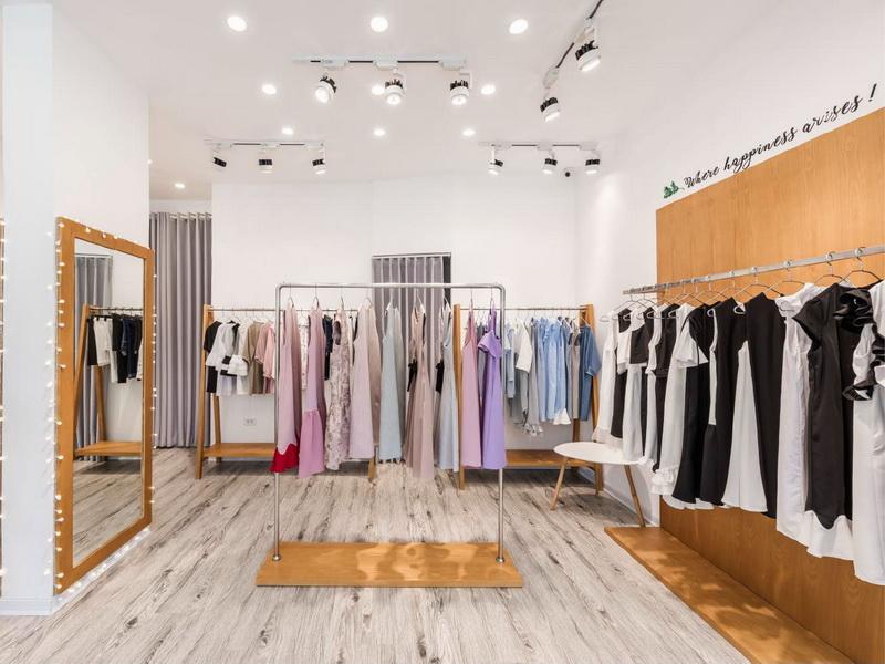 Retail Ladies Garment Shop Interior Design OY-GSD019-5