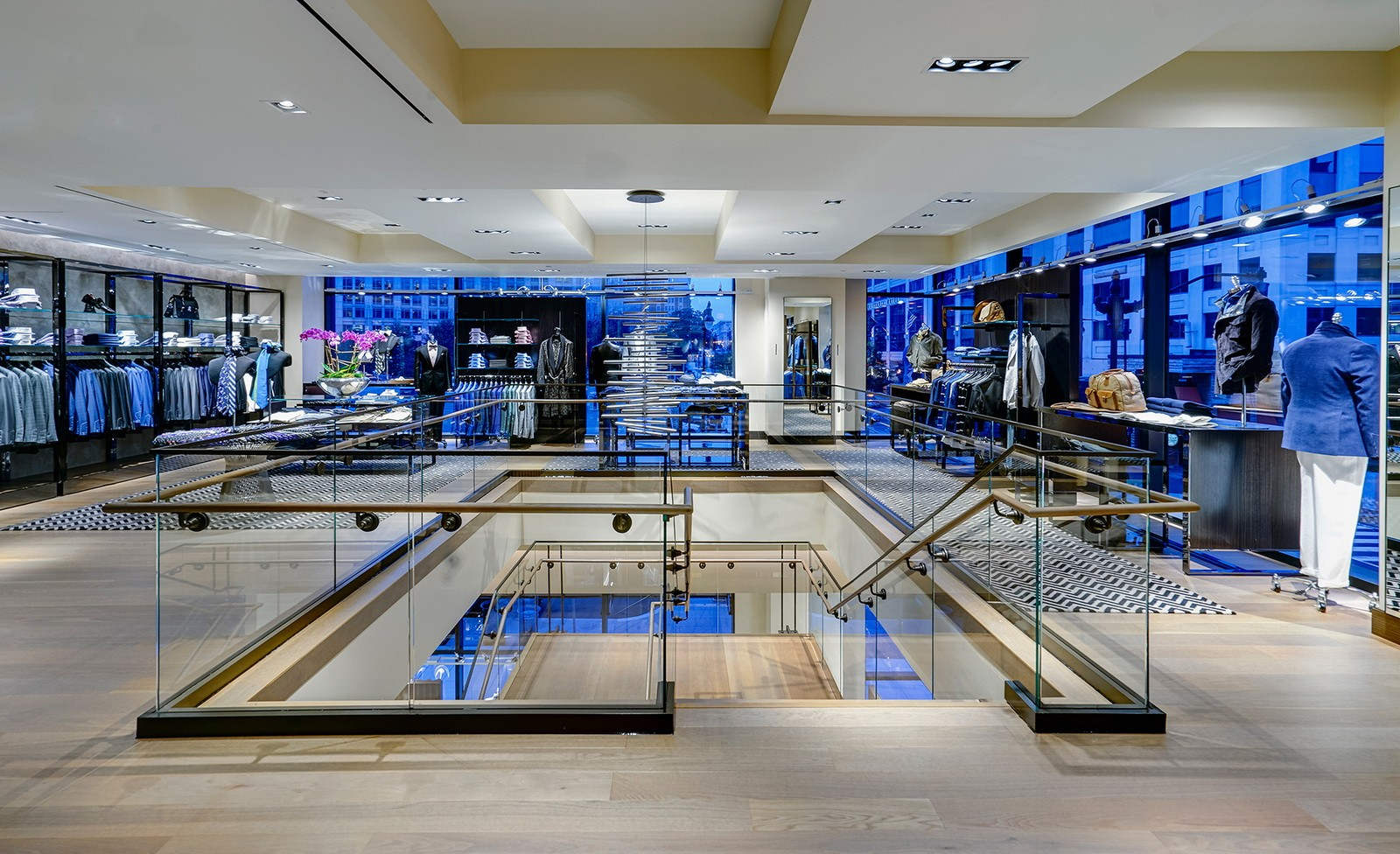 OUYEE high-end garment shop interior design ideas at discount for decoration-4