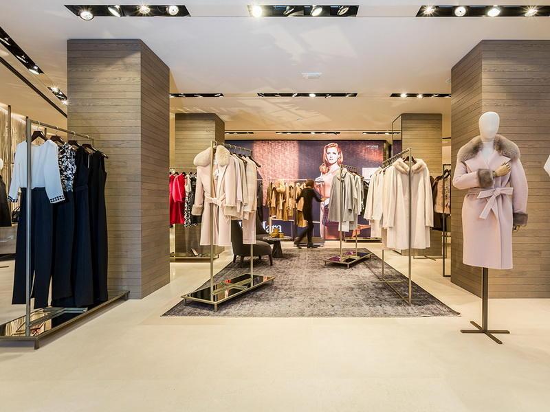 Shop Interior Design Garment Display Stand OY-GSD028