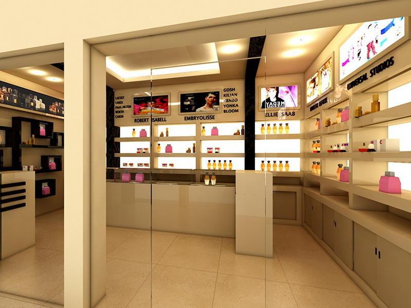 Perfume Shop Interior Design OY-PFD021