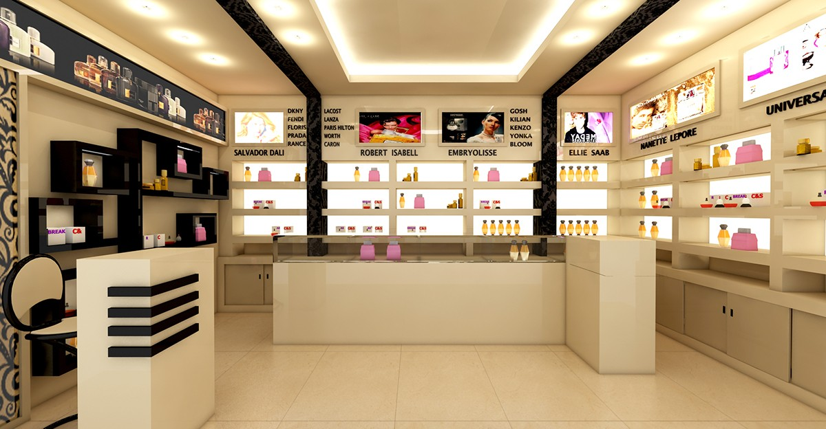 Perfume Shop Interior Design OY-PFD021-4