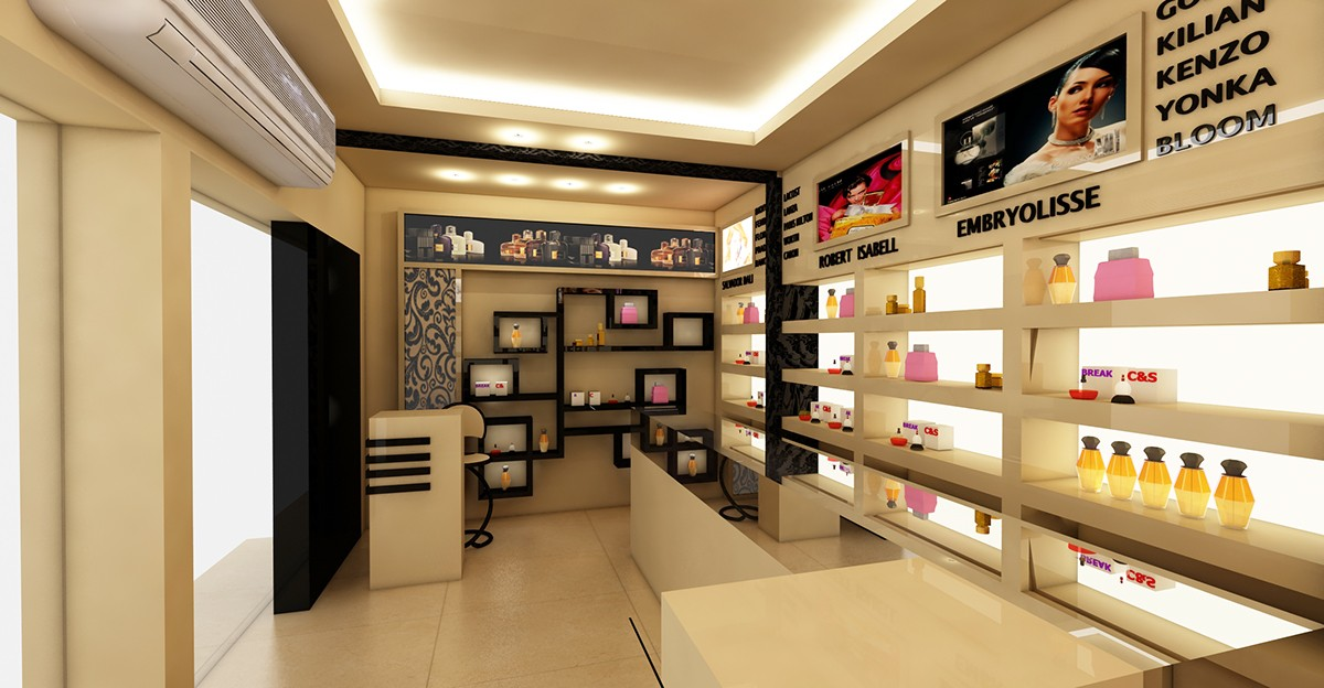 Perfume Shop Interior Design OY-PFD021-5