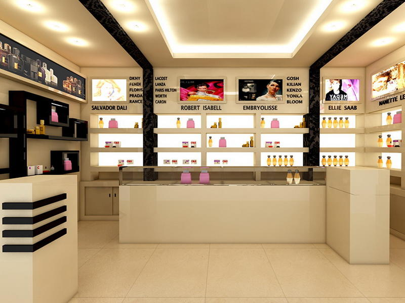 Perfume Shop Interior Design OY-PFD021