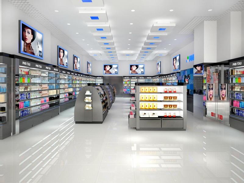 Custom Perfume Shop Display Ideas OY-PFD022
