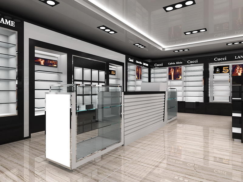 Store Furniture Perfume Shop Design OY-PFD023