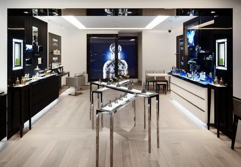 Perfume Shop Glass Table Display OY-PFD026
