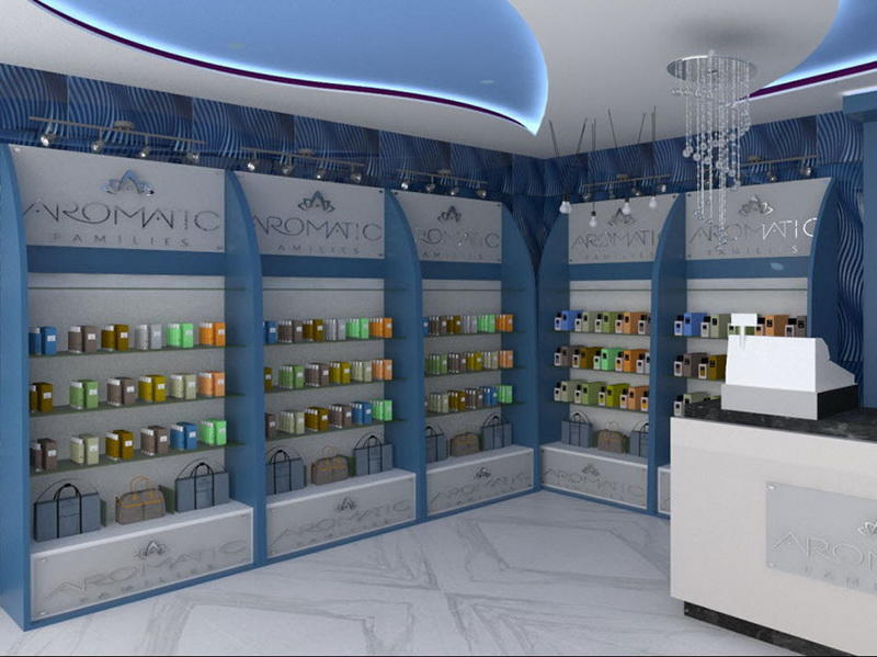 Retail Perfume Shop Interior Design OY-PFD027