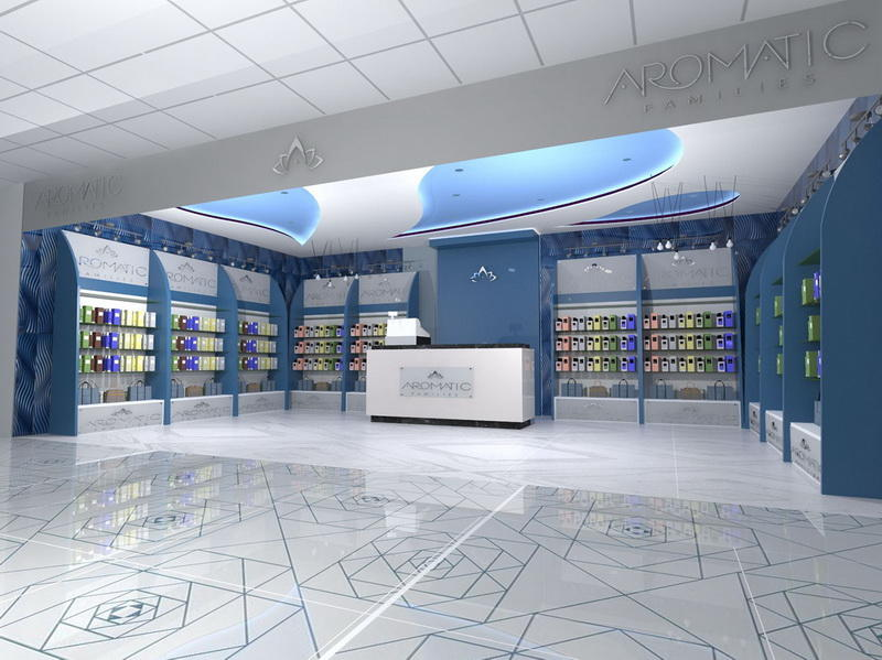 Retail Perfume Shop Interior Design OY-PFD027