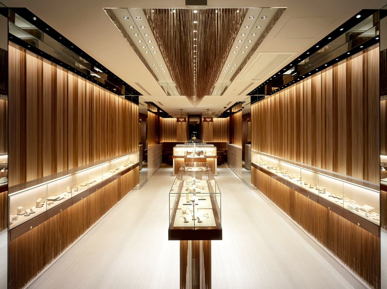 latest jewellery counter design OBM for shop OUYEE-4