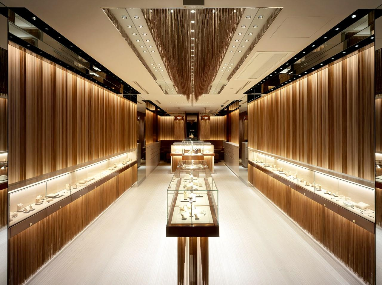 latest jewellery counter design OBM for shop OUYEE