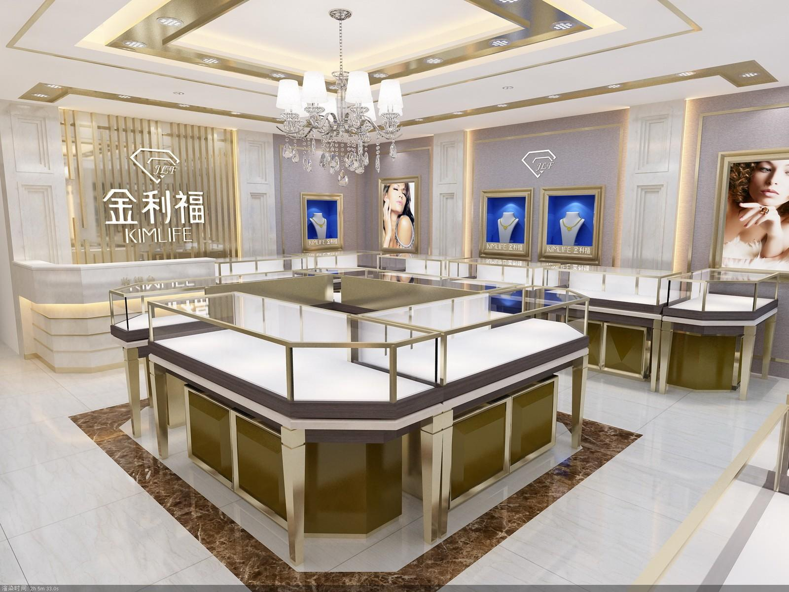 Wholesale counters jewellery shop showcase design OUYEE Brand