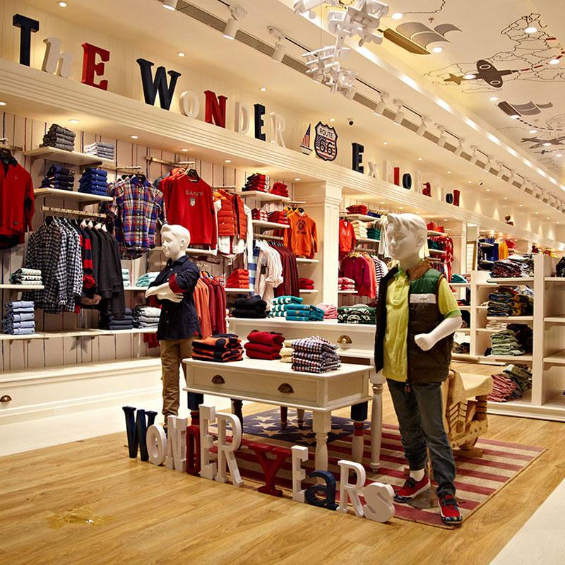 Kids Cloth Shop Furniture Design Interior OY-GSD021