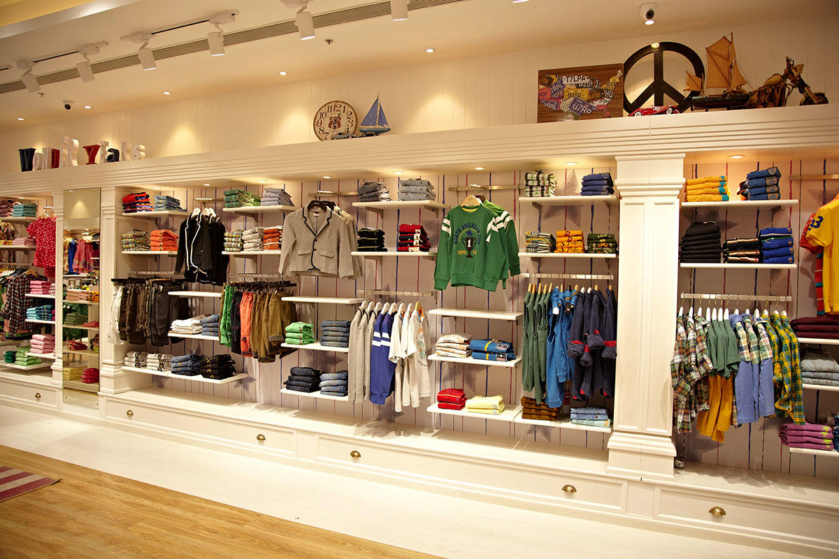 Kids Cloth Shop Furniture Design Interior OY-GSD021