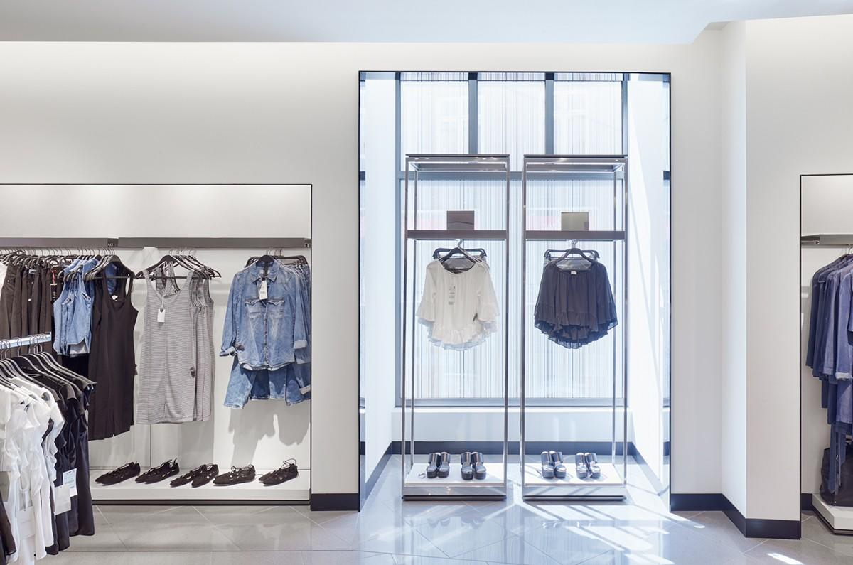 high quality clothing display cabinet at discount underwear display OUYEE