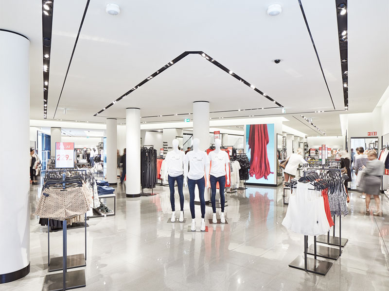free delivery clothing store design high-end universal for garment display-5