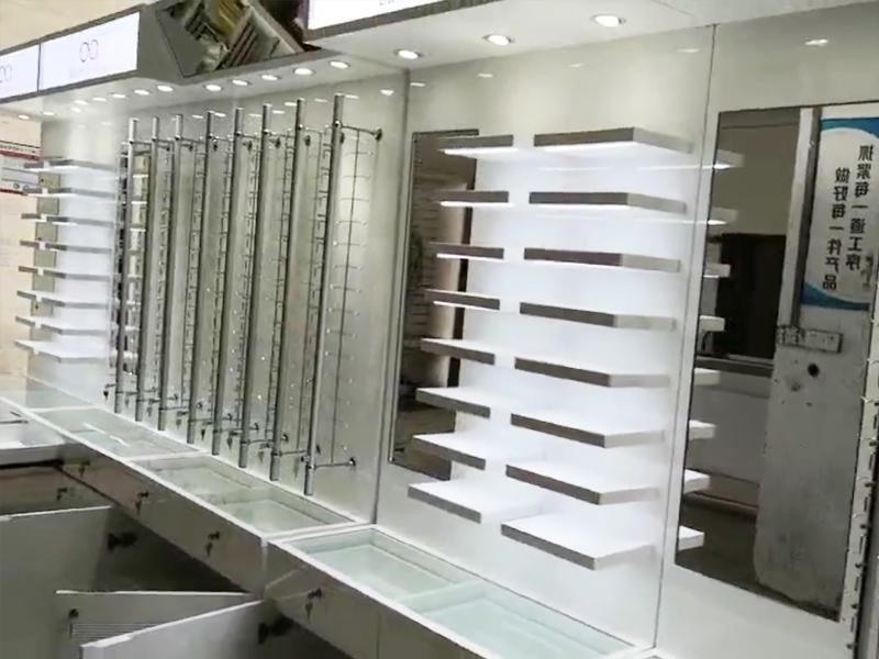 Eyeglass Wall Display