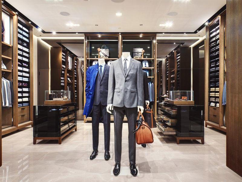 Menswear Cloth Store Interior Design OY-GSD030