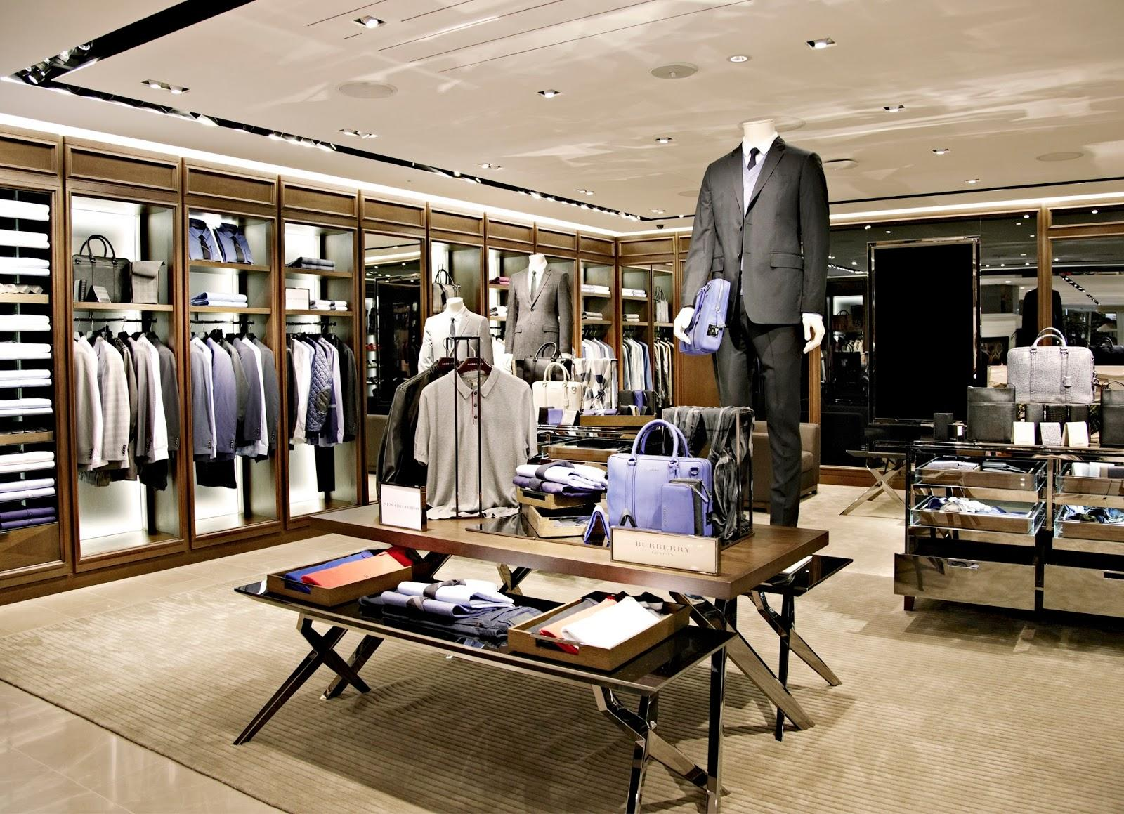 Menswear Cloth Store Interior Design OY-GSD030