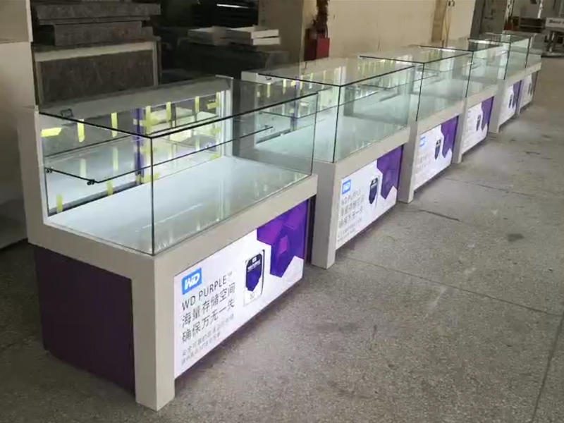 Electronic Shop Display Cabinet