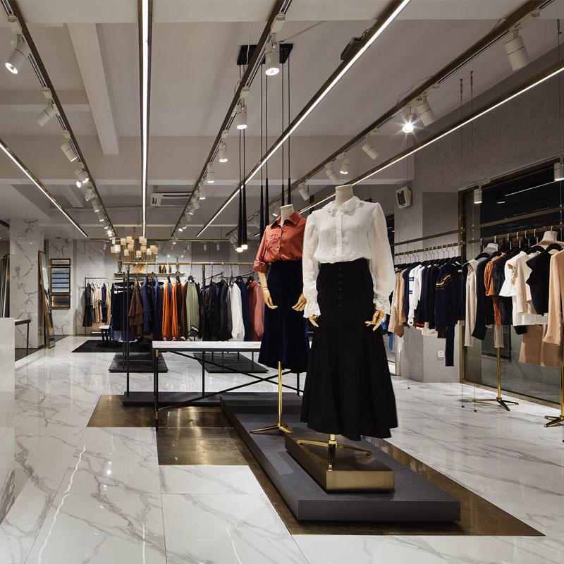 Cloth Store Interior Design OY-GSD016