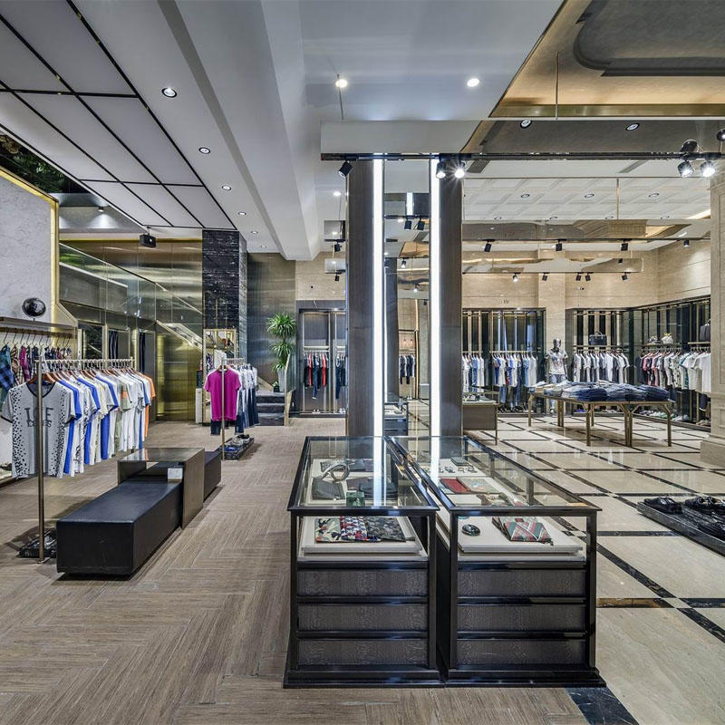 Retail Garment Shop Interior Design OY-GSD025