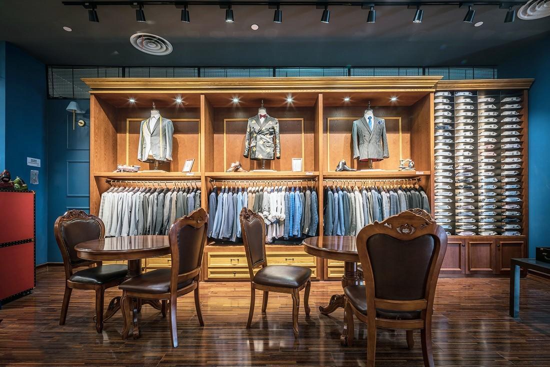 Shop Design Retail Clothing Racks OY-GSD020