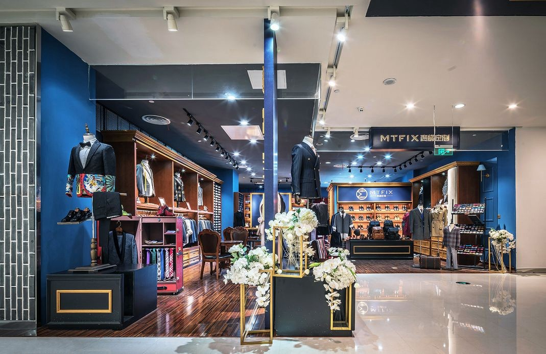 high-end types of fixtures used in retail stores high-end manufacturer underwear display-7