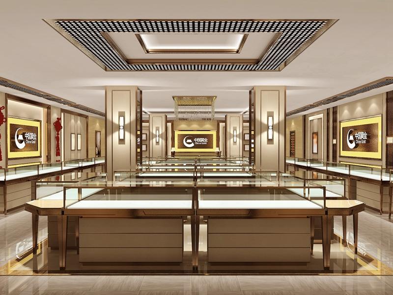 Interior Design Ideas Jewellery Shops OY-JWSD026