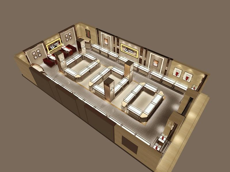 Small Cafe Layout Interior Design Ideas Jewellery Shops From Ouyee