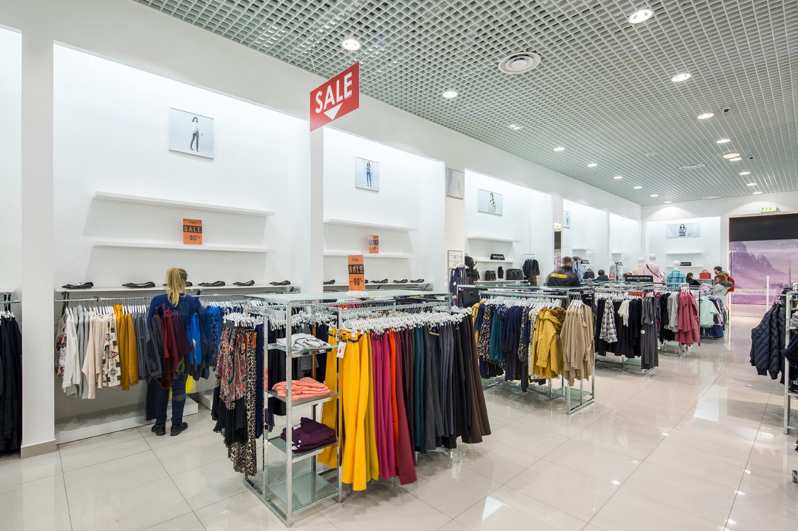 Custom Shop Design Ideas for Clothing OY-GSD018-4